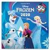 Obálka knihy Poznámkový kalendář Frozen – Ledové království 2020, s 50 samolepkami, 30 × 30 cm