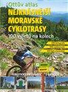 Obálka knihy Ottův atlas Nejkrásnější moravské cyklotrasy