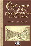 České země v době předbřeznové 1792 - 1848 - obálka