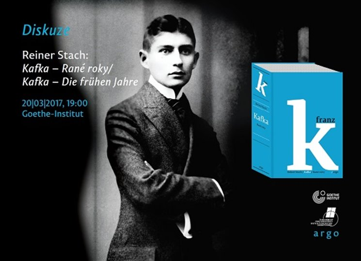 Diskuze nad knihou Reinera Stacha Kafka - Rané roky