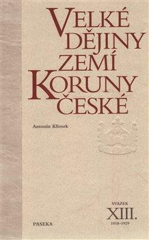 Obálka titulu Velké dějiny zemí Koruny české XIII.