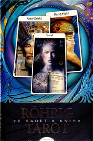 Röhrig Tarot - Semdesát osm karet a kniha
