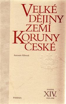 Obálka titulu Velké dějiny zemí Koruny české XIV.