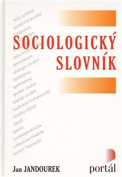 Obálka titulu Sociologický slovník