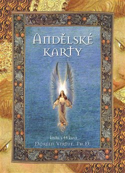 Andělské karty. Kniha a 44 karet - Doreen Virtue
