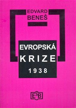Obálka titulu Evropská krize 1938