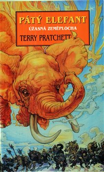 Obálka titulu Pátý elefant