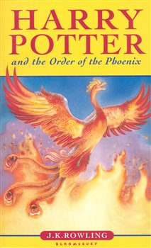 Obálka titulu Harry Potter and the Order of the Phoenix