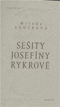 Obálka titulu Sešity Josefíny Rykrové