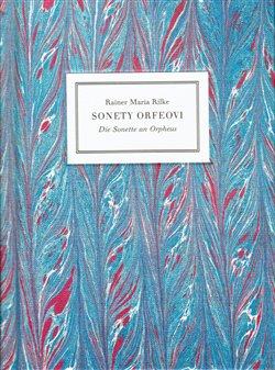 Obálka titulu Sonety Orfeovi - Die Sonette an Orpheus