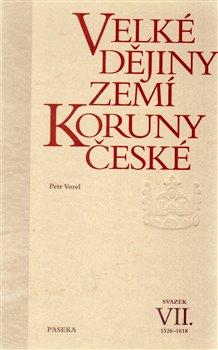 Obálka titulu Velké dějiny zemí Koruny české VII.