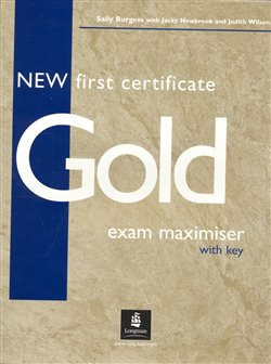 Obálka titulu New First Certificate Gold Exam Maximiser with key