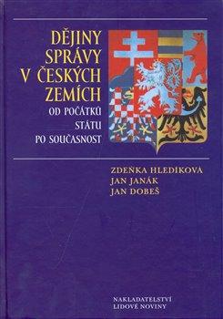 Obálka titulu Dějiny správy v českých zemích