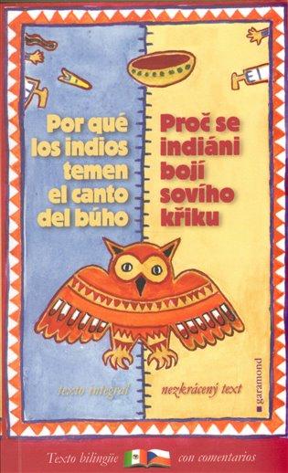 Proč se indiáni bojí sovího křiku / Por qué los indios temen el canto del búho - Oldřich Kašpar | Booksquad.ink