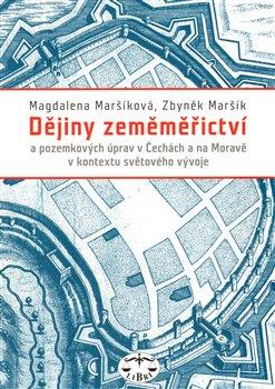 Obálka titulu Dějiny zeměměřictví v Čechách, na Moravě a ve Slezsku