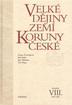 Obálka titulu Velké dějiny zemí Koruny české VIII.