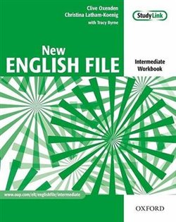 Obálka titulu New English File Intermediate - Workbook