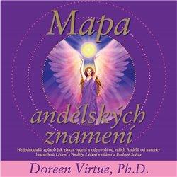 Obálka titulu Mapa andělských znamení