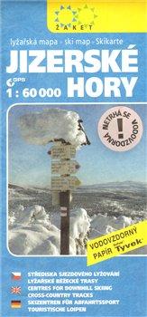 Jizerské hory - lyžařská mapa 1:60 000
