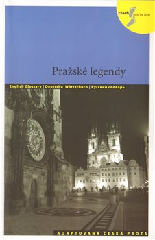 Obálka titulu Pražské legendy