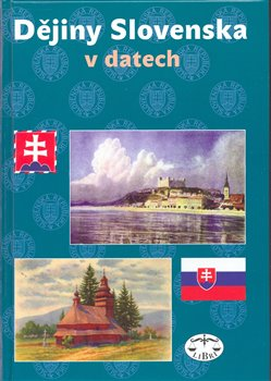 Obálka titulu Dějiny Slovenska v datech