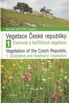 Obálka titulu Vegetace České republiky 1.Travinná a keříčková vegetace