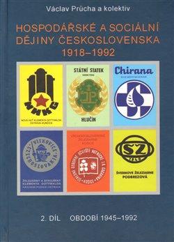 Obálka titulu Hospodářské a sociální dějiny Československa 1918-1992. 2.díl