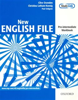 Obálka titulu New English File Pre-intermediate Workbook