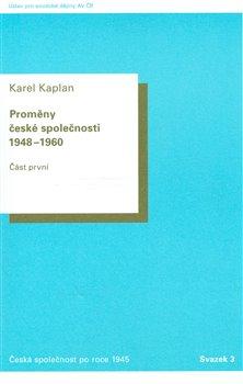 Obálka titulu Proměny České společnosti 1948–1960.