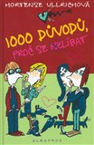 Obálka knihy 1000 důvodů, proč se nelíbat