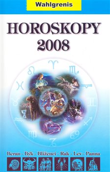 Obálka titulu Horoskopy 2008 I.