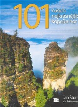 Obálka titulu 101 našich nejkrásnějších kopců a hor