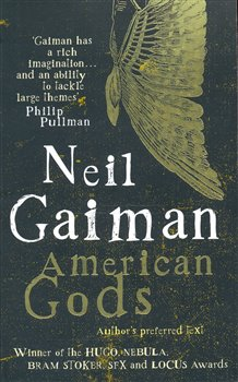 Obálka titulu American Gods