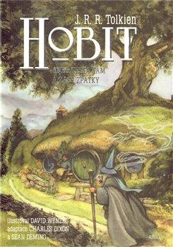 Obálka titulu Hobit - komiks