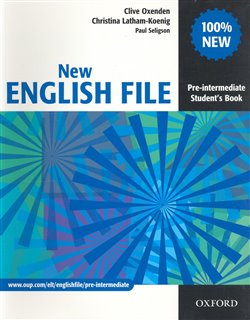 Obálka titulu New English File Pre-Intermediate Student´s Book