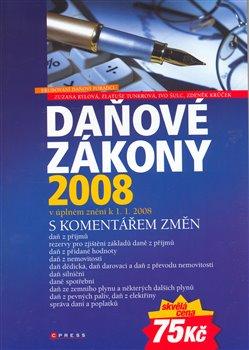 Obálka titulu Daňové zákony 2008