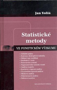 Obálka titulu Statistické metody ve fonetickém výzkumu