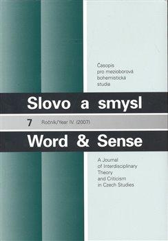 Obálka titulu Slovo a smysl 7 / Word & Sense