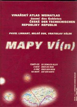 Obálka titulu Vinařský atlas území České republiky/ Weinatlas des Gebietes der Tschechischen republik
