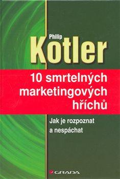 Obálka titulu 10 smrtelných marketingových hříchů
