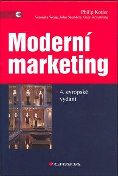 Obálka titulu Moderní marketing, čtvrté evropské vydání