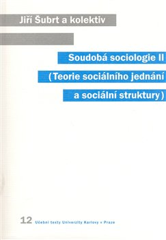 Obálka titulu Soudobá sociologie II