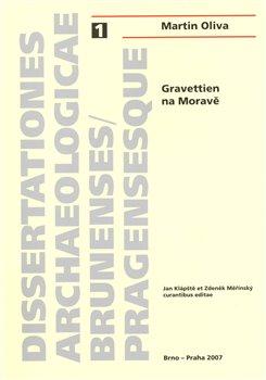Obálka titulu Gravettien na Moravě