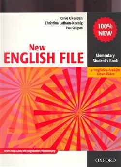 Obálka titulu New English File Elementary Student´s Book s anglicko-českým slovníčkem