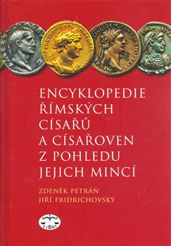 Obálka titulu Encyklopedie římských císařů a císařoven z pohledu jejich mincí