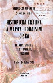 Historická geografie - Supplementum I.