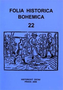 Obálka titulu Folia Historica Bohemica, sv. 22.