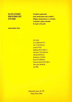 Obálka titulu Slovanské historické studie, mimořádné číslo
