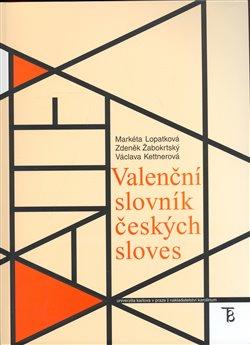 Obálka titulu Valenční slovník českých sloves