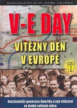 Obálka titulu V-E Day Vítězný den v Evropě